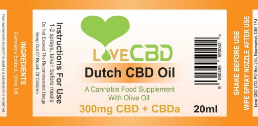 300mg Dutch label