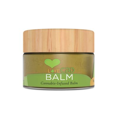 love cbd balm jar big