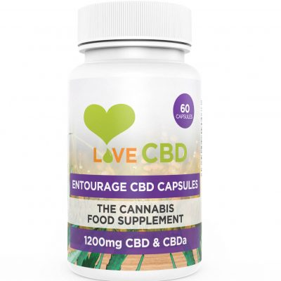 1200mg entourage cbd capsules
