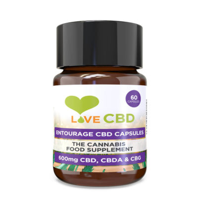 10mg cbd entourage capsules