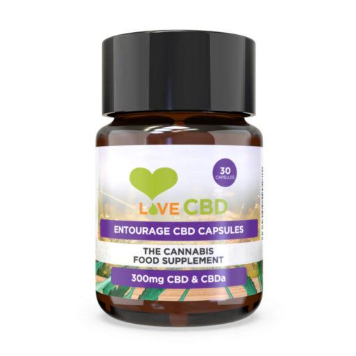 entourage capsules cbd 30