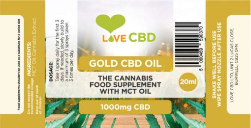 1000mg gold label small