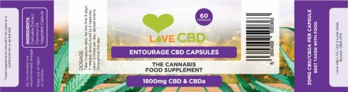 1800mg cbd entourage label