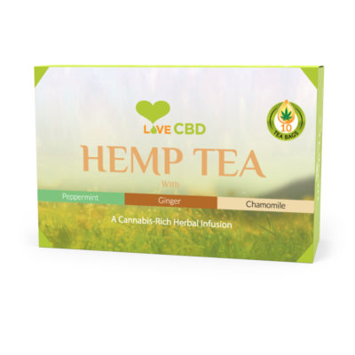 hemp tea box small