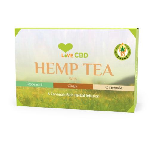 hemp tea box small