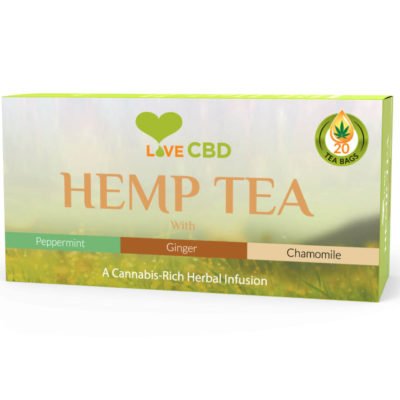 hemp tea box