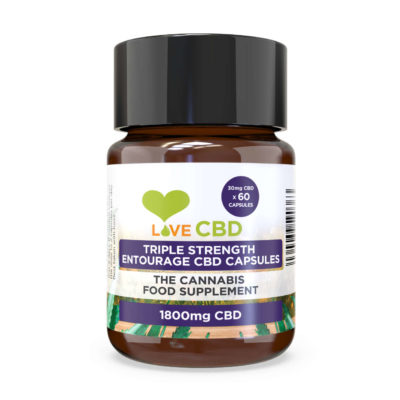 triple entourage cbd capsules large